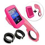 Tuff-Luv i3_ 75+ E4_ 37_ 5055261827274Schutzhülle Silikon rosa Schutzhülle für GPS–Matratzenschonbezüge Schutz für GPS (Schutzhülle, Silikon, Rosa, Garmin, Edge 520, staubgeschützt, kratzfest)