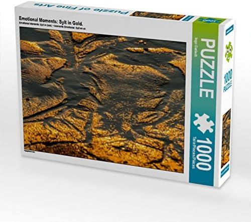 CALVENDO Puzzle Puzzle Puzzle Emotional MoHommes ts: Sylt in Gold. 1000 Teile Lege-Grösse 64 x 48 cm Foto-Puzzle Bild Von Gerlach Ingo | De Grandes Variétés  ed54ff