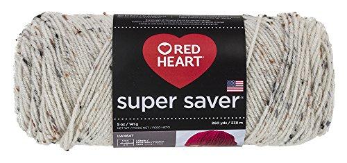 Red Heart Super Saver Garn, Almandine Fleck Aran Fleck -