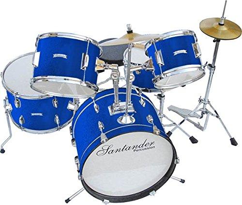 santander-schlagzeug-grosses-kinderschlagzeug-komplett-set-8-teilig-blau