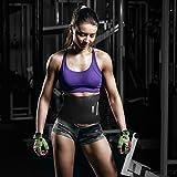 BRACOO Fitnessgürtel – Damen & Herren – Hot Belt – Schwitzgürtel – Waist Trimmer | Schnell & Einfach Abnehmen mit dem Bauchweggürtel