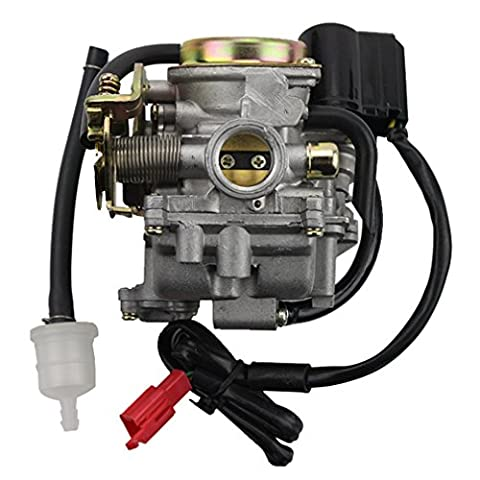 GOOFIT PD18J Carburetor with Electric Choke for 4 Stroke GY6 49cc 50cc Chinese Scooter Moped 139QMA 139QMB Taotao