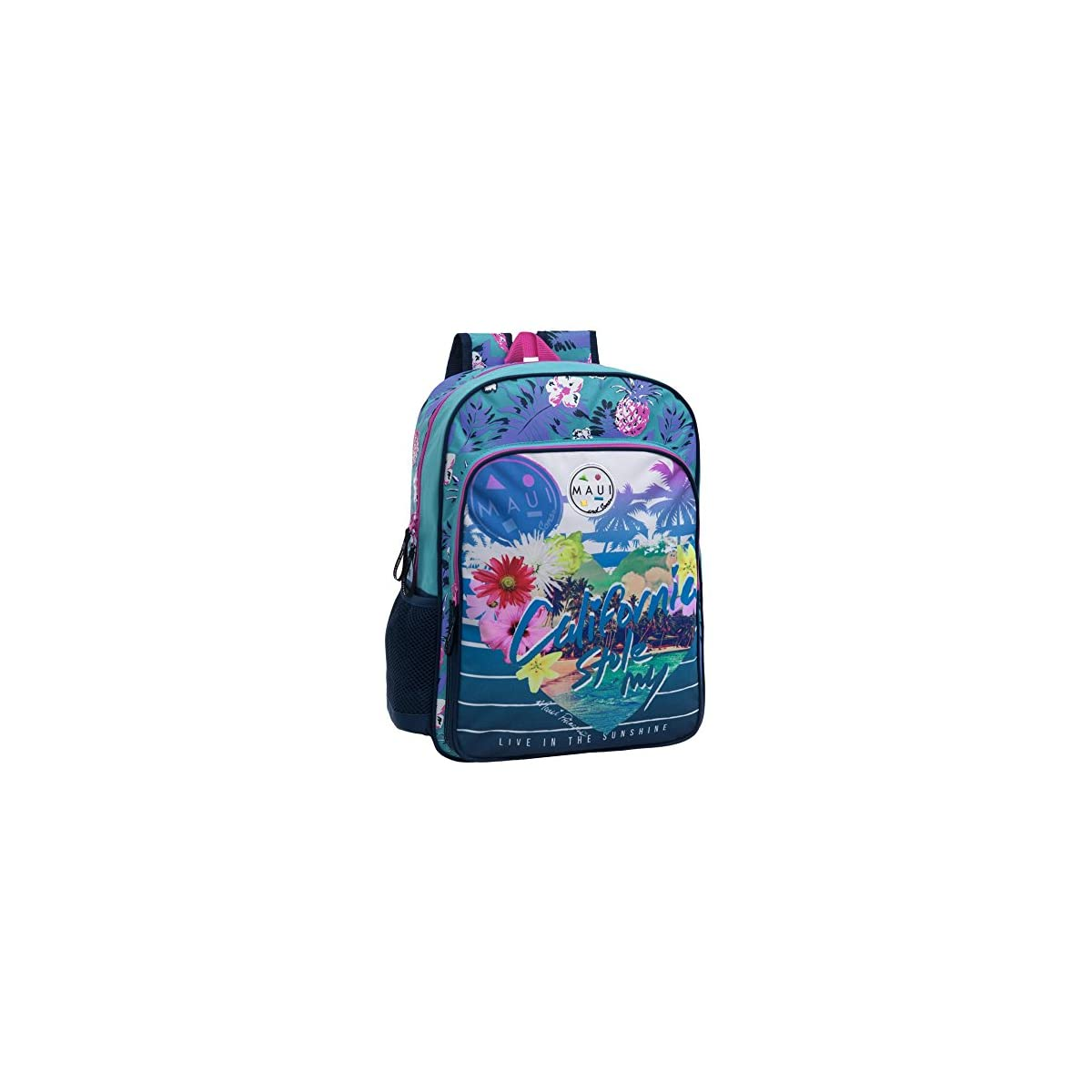 51LaeG76r4L. SS1200  - Maui 45823A1 California Mochila Escolar, 15.6 litros, Color Azul