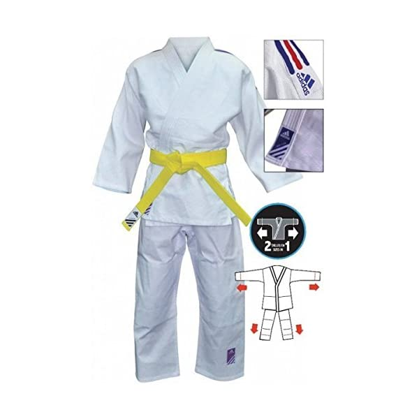7cc372c50 adidas Evolution ADIJ250E Judo Kimono (with White Belt) J250 ...
