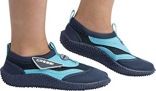 Blu Junior Bambini Coral Azzurro Mare Unisex Cressi Scarpette RYxvF5wnxq