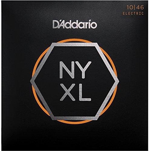 D'Addario NYXL1046 NYXL E-Gitarrensaite Super Light 010-046 bis 30% reißfester