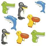 Eduplay 800462 - Set di 8 pistole ad acqua a forma di animali