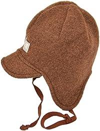 PICKAPOOH Baby/Kinder Mütze Javis aus Bio-Wollwalk