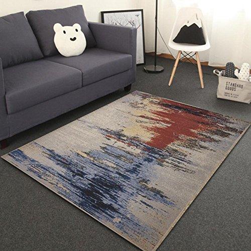 Shaggy RugModern 100% Fiber Non-Shed Polypropylene Heat Set Qualität Bettwäsche und Handtücher Bedroom Bedside Carpet Home Teppich Teppich Home Decor -