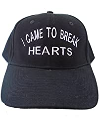f079fc8c324 I Came To Break Hearts Embroidered Baseball Cap 6 Panel Fashion Hat Tumblr  Pintrest Trends