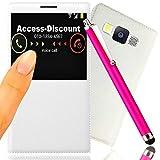 Access-Discount-Cofanetto accessori per SAMSUNG GALAXY J5 Custodia a portafoglio, per Smartphone, SVIEW Discount-J 5 a 16 GB, dual sim, 8 GB, colore: oro, duos SM-SM J500 J500F J500F 3 g, 4G