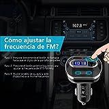 VICTSING Transmisor FM Bluetooth 4.1 para...