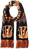 NFL Cincinnati Bengals Lodge Scarf, Orange, One Size