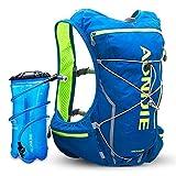 EGCLJ Zaino 10L Water Bag - Zaino Idratazione Pack - Corsa, Escursionismo, Ciclismo E attività all'Aria Aperta - Zaino Leggero Acqua (Color : Black)