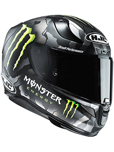 Casco Moto Hjc Monster Rpha 11 Military Camo (M , Nero)