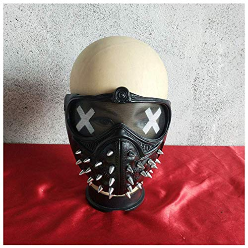 YaPin Watchdog 2 Wrench Maske Watch Dogs Spielfilm Umgebung Halloween Party Cos Mask Resin