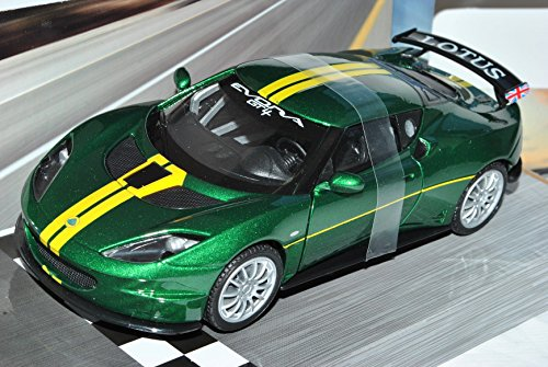 lotus-evora-s-gt4-coupe-grn-gelb-ab-2009-1-24-motormax-modell-auto