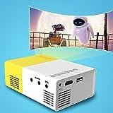 Mini Beamer, Stoga YG300 Mini geführtes 1080P volles HD Minikino-Projektor HD Beamer-beweglicher Miniprojektor - 4
