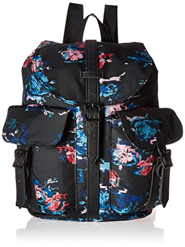 Herschel Supply Company Dawson Casual Tagesrucksack Floral Blur/Black Synthetic Leather