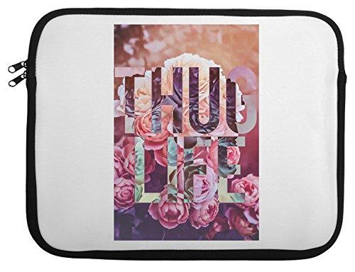 Thug Life Floral Hipster Cali Laptop Case 13