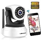 Caméra de Surveillance WiFi, Lemnoi SP017 Caméra IP WiFi 1080P Intérieur, Audio...