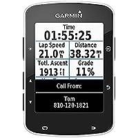 """Garmin 010-01368-00 Edge 520-Ciclocomputador con GPS (Pantalla de 2.3"""", Connect, Sensor de Potencia Ant+, hasta 15 Horas autonomía), Solo Dispositivo, Unisex, Negro"""