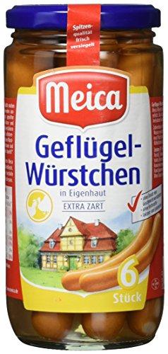 Preisvergleich Produktbild Meica Geflügel-Würstchen,  6 Stück,  180 g