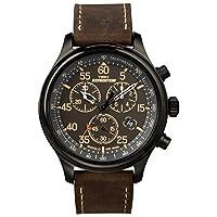 Timex Expedition Rugged - Reloj análogico de cuarzo con correa de cuero para ...