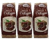 3er Pack Kastanienmehl - Edelkastanienmehl 500 Gramm 1,5 Kilo glutenfreies Mehl