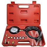 UK Onda Box Pressione Olio Meter Test Kit Tester pressione Diesel Benzina Strumento Di Garage