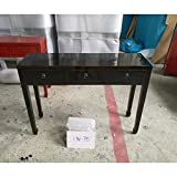 Etnicart - Chinesische Konsole mit DREI Schubladen-120x86x35-MASSIVES Holz