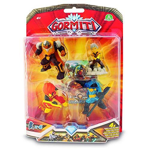 Gormiti Mini Action Figures, Multicoloured (GIOCHI PREZIOSI grm10000)