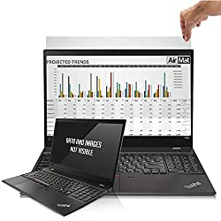Laptop Privacy Screen Filter for 17.0 Inch Widescreen Display Laptops (16:10 Aspect Ratio). Premium Anti Glare Protector