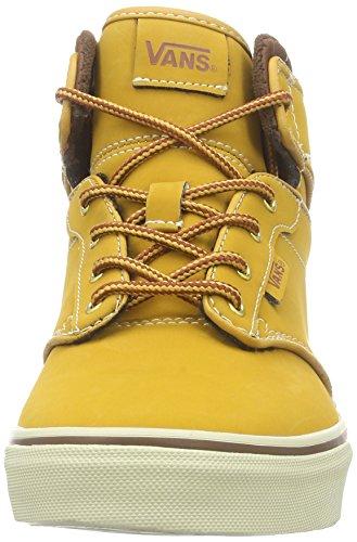 Vans ATWOOD HI Unisex-Kinder Hohe Sneakers Braun ((Buck) oak buff/potting soil)