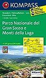 Parco Nazionale del Gran Sasso e Monti della Laga: Wanderkarte mit Radtouren. GPS-genau. 1:50000 (KOMPASS-Wanderkarten, Band 2476)