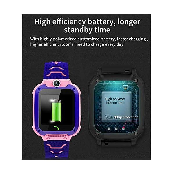 FOONEE Reloj GPS Tracker para niños, Reloj Inteligente Teléfono para niños de 3 a 12 años Niños pequeños Niños Niñas, 1… 7
