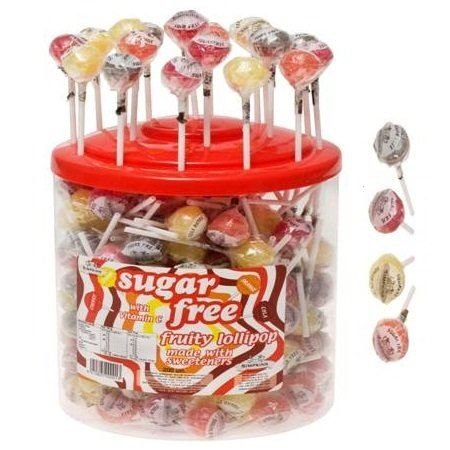 Simpkins Sugar Free Fruity Lolly mit Vitamin C ONE LOLLY 2 Pack