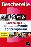 Bescherelle Chronologie de l'histoire du monde contemporain: les événements majeurs de 1914 à nos jours