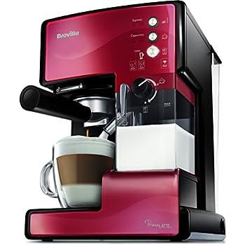 Espresso Siebträgermaschine bis 200 Euro Breville VCF046X PrimaLatte Kaffeemaschine