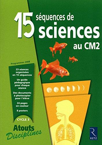 15 séquences de sciences au CM2