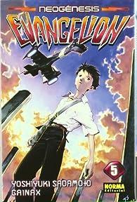NEOGÉNESIS EVANGELION TOMO 05 par Yoshiyuki Sadamoto