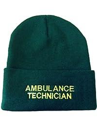 Ambulance technicien Hat laine d'hiver Bonnet tricoté pour Premier Secours, St Johns et dœuvre
