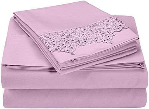 super-soft-light-weight-100-brushed-microfiber-full-wrinkle-resistant-purple-4-piece-sheet-set-with-