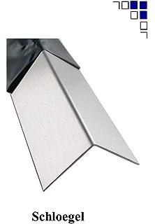 1mm Edelstahlblech geb/ürstet 1.4301 V2A L/änge 1000//1500mm eins Schutzfolie 25x1000mm