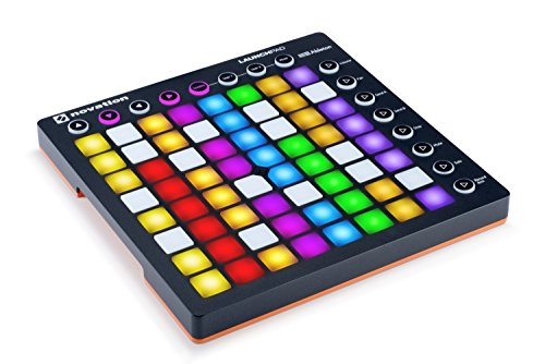 Novation LAUNCHPAD MK2 with 64GB Backlit Pads Launchpad Ableton Live Controller, 8 x 8 Grid