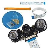 Haiworld Raspberry Pi Nachtsicht Vision Kamera Komplettes Set f�r RPI 3/2 und Zero/Zero W Bild