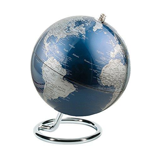 emform Mini-Globus, Galilei Blue, Metall & Kunststoff, 130 x 170 mm