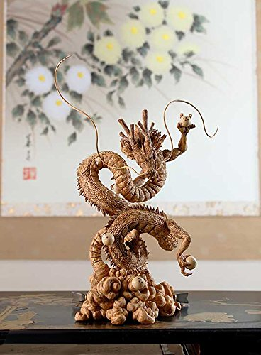 Banpresto 604715 Scultures Dragon Ball Z, X creator- Shenron Action Figur, 16 cm goldene variante