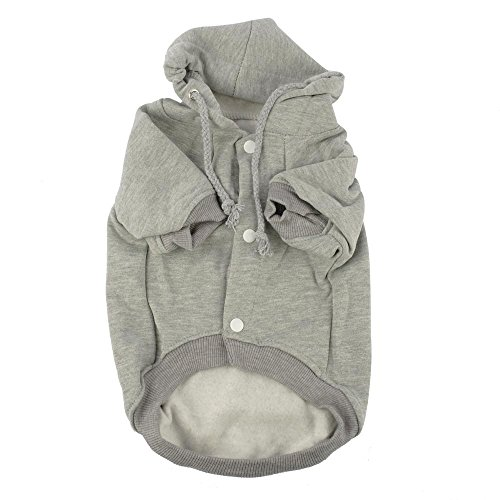 Valoxin(TM) Nuovi caldi animali con cappuccio cappotti vestiti del cane 4 formati cucciolo Abbigliamento Outerwears