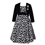 Best Richie House Dress For Kids - Richie House Girls' Long Style Polka Dot Dress Review